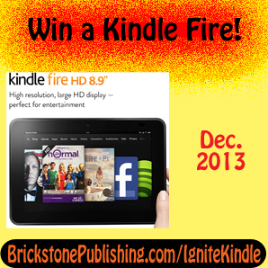 #IGNITE Kindle Fire Giveaway