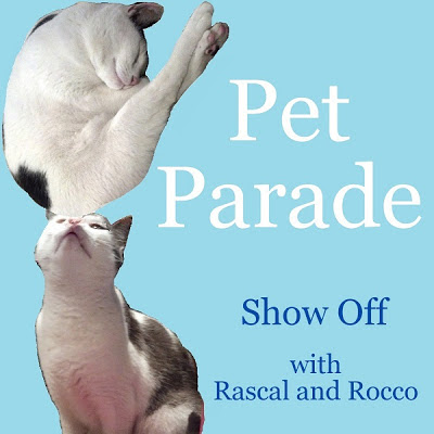 Rascal and Rocco's Pet Parade Blog Hop