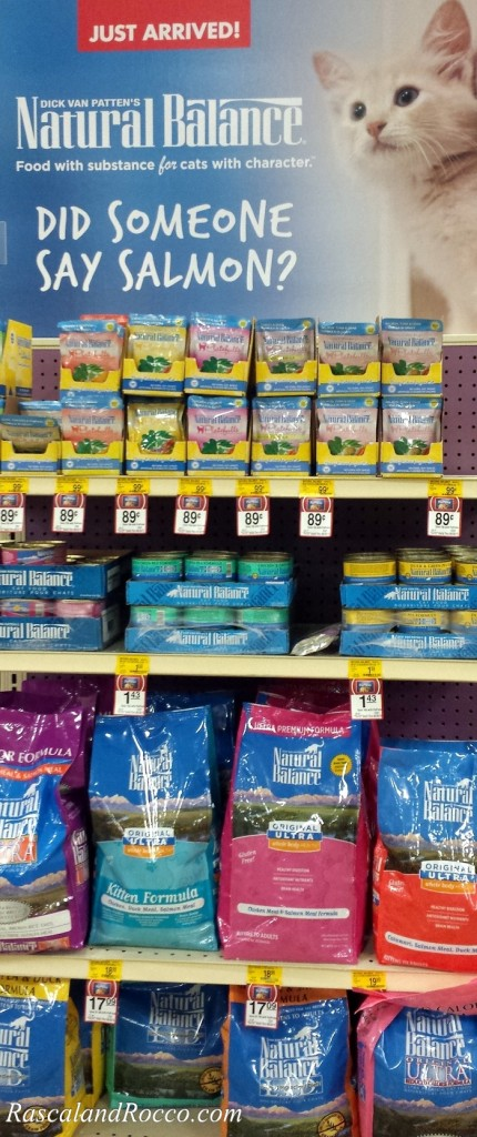 Leaning tower of cat food! @NaturalBalance pet food is now at @PetSmart! Watch our #PetSmartStory on video