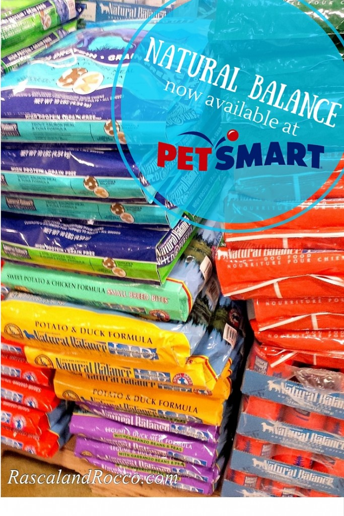 Natural Balance grain free limited ingredient pet food now at PetSmart! So easy to provide the best for your dog or cat