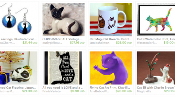 Etsy Gift Ideas for Cat Lovers Under $30