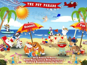 Summer at the Pet Parade animal blog hop