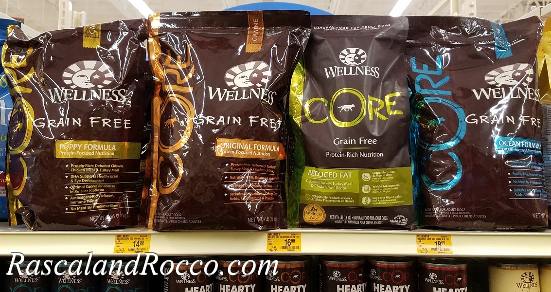 Trying out new Wellness Core dry dog food now at @Petsmart #WellnessPet #sponsored @wellnesspetfood