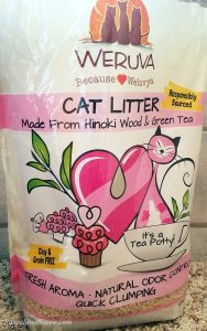 A cat box that smells good? Yes! With Weruva its a Tea Potty ad Cats