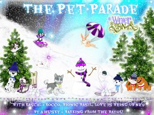 Pet Parade pet lovers blog hop