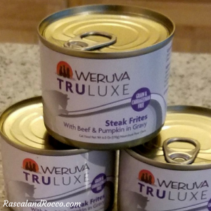 Weruva TRULUXE natural canned cat food