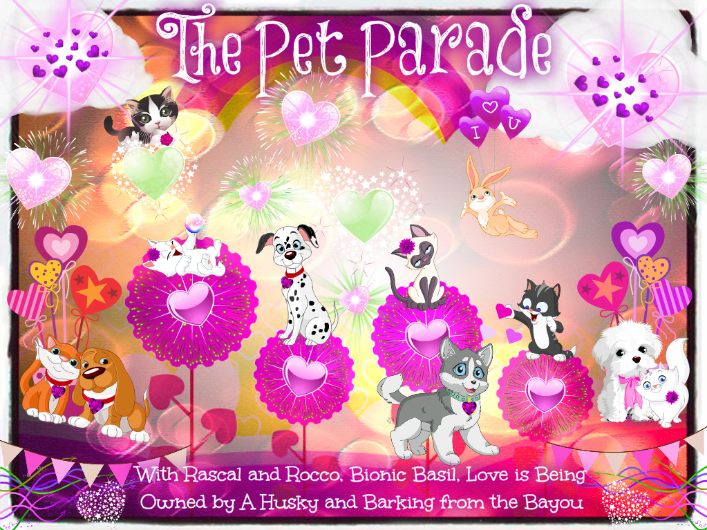 Pet Parade Valentines for pets and animals Valentines day pawty
