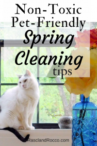 non-toxic pet friendly cleaning tips for healthy pets and healthy home | non-toxic cleaners | natural cleaning | natural home | pet care | cats | dogs | caring for pets