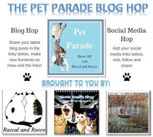 Pet Parade pet blogger blog hop
