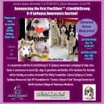K-9 Epilepsy Charity Auction #MondayMatters