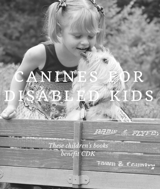 Childrens Books Benefits Canines for Disabled Kids #MondayMatters