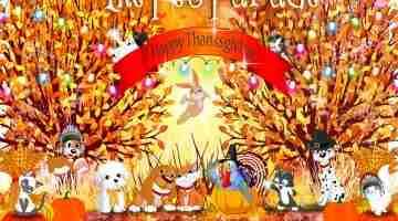 Pet Parade 222 Happy Thanksgiving!